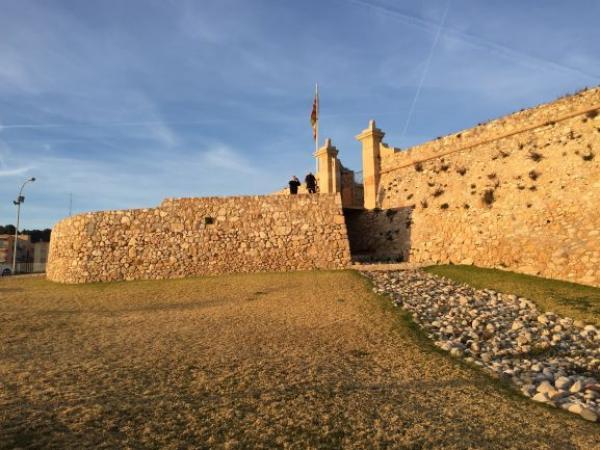 Форт Сан Жорди в Таррагоне