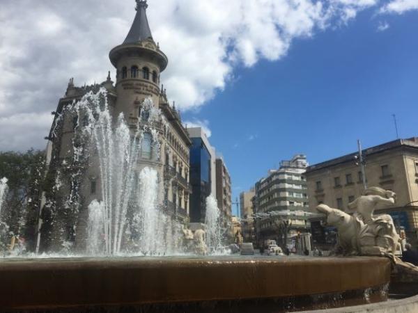 Фонтан Столетия в Таррагоне