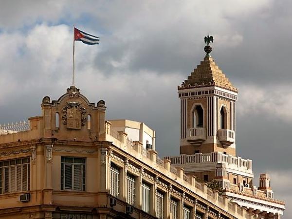 Barcardi Building in Havana